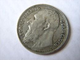 BELGIE - 1 FRANK 1909. Etat SUP. - 1865-1909: Leopold II