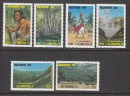Dominica 1988, Mi no: 1086-91 ** See Scan! Free shipping on all orders over 10 Euros. Welcome to my store!