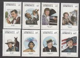 Dominica 1988, Mi no: 1122-29 ** See Scan! Free shipping on all orders over 10 Euros. Welcome to my store!