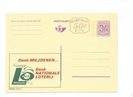 Publibel Neuve N° 2542 + P 010 ( Nationale Loterij) - Publibels