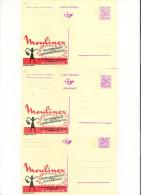 Publibel Neuve N° 2550-51-52 (Moulinex -Gosselies) - Publibels