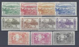 Nelles-HEBRIDES - 1957- LEGENDE  FRANCAISE - N° 175 à 185 - X - TB - - Leyenda Francesa
