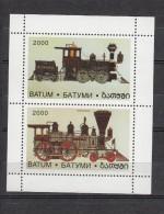 Trein, Train, Locomotive, Railway: Batum 2000  2 Old Locs - Trains
