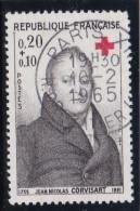 - A .1964 - OBL. - Y.T. N° 1433 -  CROIX ROUGE :  J. N. BARON CORVISART   - - France