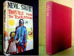 """TRUSTEE FROM THE TOOLROOM"" Nevil SHUTE 1ère 1st Edition Heinemann 1960 + Jacket Ill. FRATINI !"
