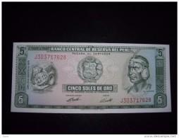 Peru UNC,5,10,50,50,100,500,1000,5000,5000,10000,100000 - Peru