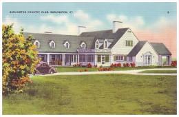 BURLINGTON COUNTRY CLUB - BURLINGTON, VERMONT, USA (Unused Old Linen Postcard) - Burlington