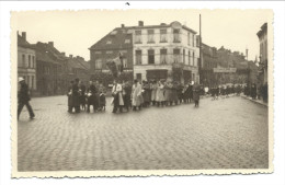 CPA - Photo Carte - Foto Kaart - MERXEM - MERKSEM - Antwerpen - St Franciscusplein  - Fête - Orchestre   // - Antwerpen