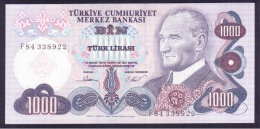 Turkey 1000 Lira 1981 UNC - Turkey