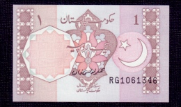 Pakistan 1 Rupee 1983 Rare Signature UNC - Pakistan