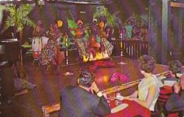Bermuda Hamilton Famous Limbo Dancers In The Jungle Room