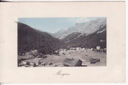 MORGINS (Suisse-Valais)  Vue Colorisée-Chalet-Paysage  - Editeur Jullien Frères, Genève -VOIR 2 SCANS - - VS Valais