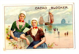Chromo Pour Blooker Cacao, Amsterdam, Holland, Hollande, Scènes Hollandaises - Chromos