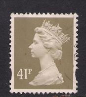 GB 1993 QE2 41p Grey Brown Machin SG Y1712......( C205 ) - 1952-.... (Elisabeth II.)