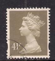 GB 1993 QE2 41p Grey Brown Machin SG Y1712......( C293 ) - 1952-.... (Elisabeth II.)
