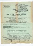A.Hocquet Constructeur  - Gouy Par Le Catelet - Salle De Traite Mobile - Agricole - Agriculture - Elevages- - Autres Communes