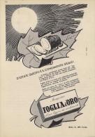# MARGARINA FOGLIA D'ORO STAR Italy 1950s Advert Pubblicità Publicitè Reklame Food Seasonings Gewurze Margarine - Manifesti