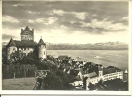 CP Allemagne Meersburg - Lac De Constance Et Les Alpes - Meersburg