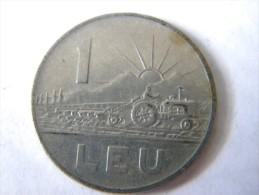 ROUMANIE - 1 LEU 1963. - Roumanie