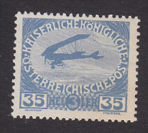Austria, Scott  #B7, Mint Never Hinged, Plane, Issued 1915