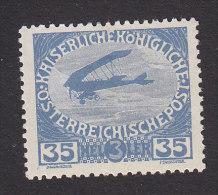 Austria, Scott  #B7, Mint Hinged, Plane, Issued 1915