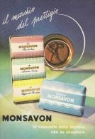 # MONSAVON, Italy 1960s Advert Pubblicità Publicitè Reklame Sapone Savon Jabon Seife - Unclassified