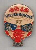 47 - VILLENEUVE-SUR-LOT . MOTO CLUB VILLENEUVOIS . MÉDAILLE CONCENTRATION MOTO 1972 - Réf. N°18M - - Motos