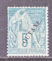 FRENCH GUIANA  21    Fault  * - French Guiana (1886-1949)