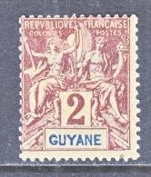 FRENCH GUIANA    33  * - French Guiana (1886-1949)