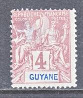 FRENCH GUIANA    34  ** - French Guiana (1886-1949)