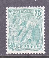 FRENCH GUIANA    76    * - French Guiana (1886-1949)