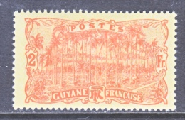 FRENCH GUIANA    83     * - Unused Stamps