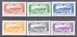 FRENCH GUIANA    C 1-6  * - French Guiana (1886-1949)