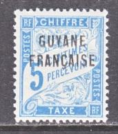 FRENCH GUIANA    J 1   * - French Guiana (1886-1949)