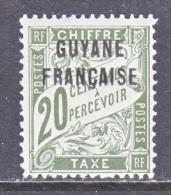 FRENCH GUIANA    J 3  * - French Guiana (1886-1949)