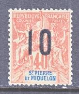 ST. PIERRE & MIQUELON  117  * - Unused Stamps