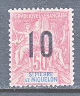 ST. PIERRE & MIQUELON  118  * - Unused Stamps