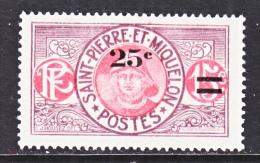 ST. PIERRE & MIQUELON  121    * - Unused Stamps