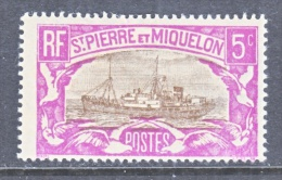 ST. PIERRE & MIQUELON  139     * - Unused Stamps