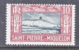 ST. PIERRE & MIQUELON  140   * - Unused Stamps