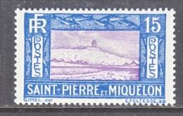 ST. PIERRE & MIQUELON  141  * - Unused Stamps