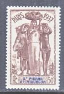 ST. PIERRE & MIQUELON  168   * - Unused Stamps