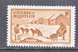 ST. PIERRE & MIQUELON  176   * - Unused Stamps