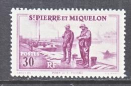 ST. PIERRE & MIQUELON  180    * - Unused Stamps