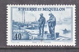 ST. PIERRE & MIQUELON  182    * - Unused Stamps