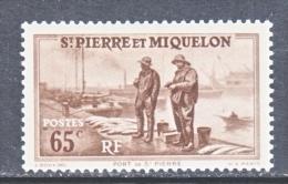 ST. PIERRE & MIQUELON  187     * - Unused Stamps
