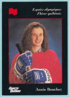 Olympics Teams - Annie Boucher, Banque National (OG1006) - Trading Cards