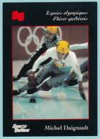 Olympics Teams - Michel Daignault, Banque National (OG1014) - Trading Cards