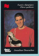Olympics Teams - Jonathan Desroches, Banque National (OG1016) - Trading Cards