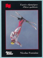 Olympics Teams - Nicolas Fontaine, Banque National (OG1021) - Trading Cards
